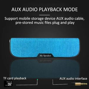 Image 5 - Level 4 Waterproof Bluetooth Speaker Portable Audio Cloth Pocket Speaker Wireless Bluetooth Speaker Home UBS Audio Gift  Speaker