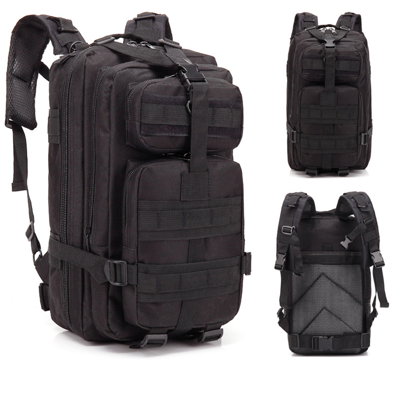 Camouflage Survival Backpack BLUEFIELD
