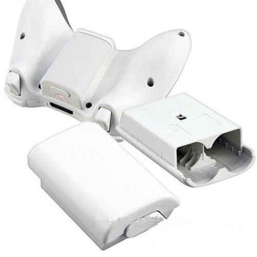 1x البطارية الغطاء الخلفي حامل علبة حزمة جزء قذيفة ل Xbox 360 وحدة تحكم لاسلكية joypad المقود استبدال أجزاء