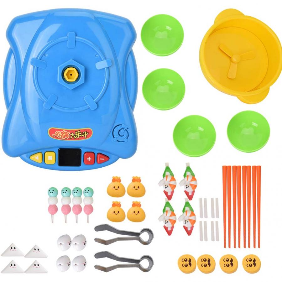 EntrüCkung Hot Pot Essen Herd Baby Clip Lebensmittel Täuschen Spiel Küche Requisiten Spielzeug Eltern-kind Glücklich Spiel Pädagogisches Spielzeug Angemessener Preis