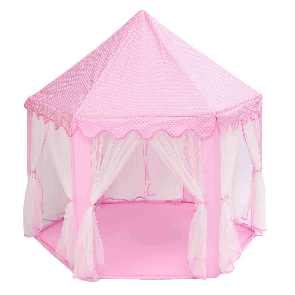 Портативный Принцесса Палатка для игр в форме замка активности Сказочный домик весело театр пляж палатка ребенок играет игрушка в подарок для детей