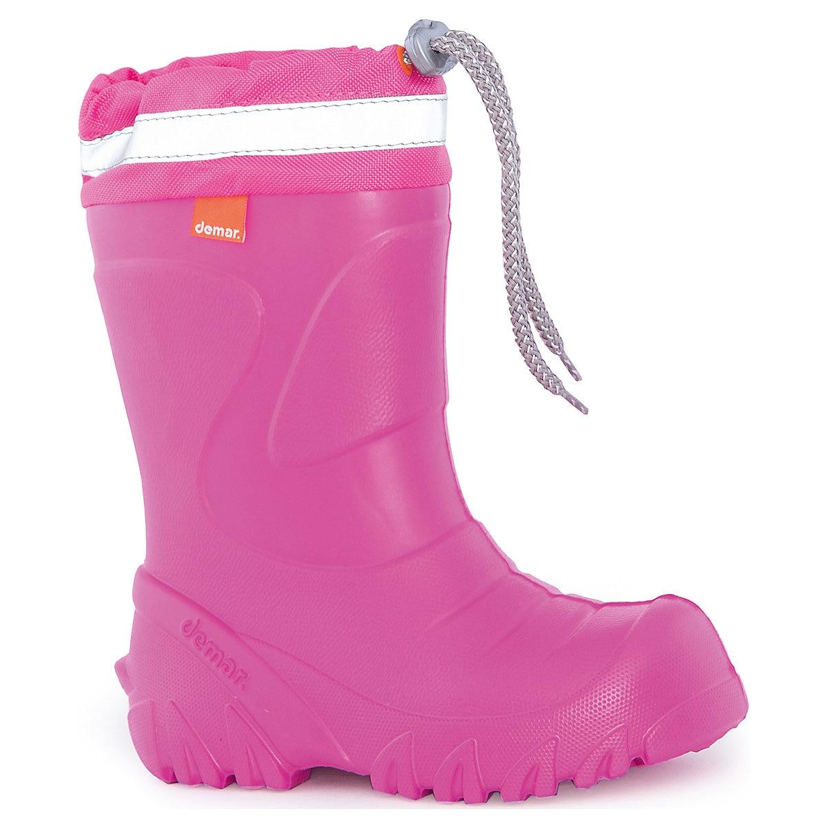DEMAR Boots 4948833 girls All Seasons Rubber Children shoes girl demar boots 4948841 boys all seasons rubber baby shoes boy