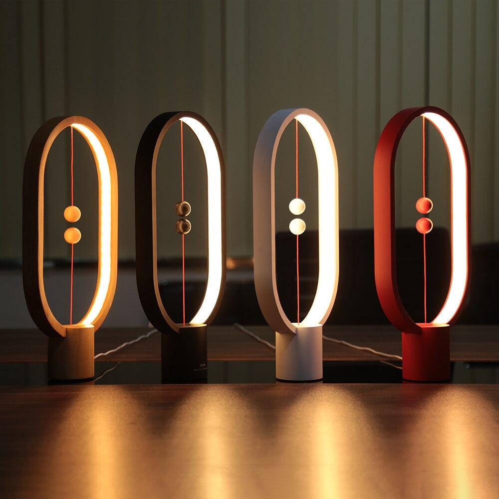 Moda 2019 Lightme Creativo Smart Balance Interruptor Magnético Led Lámpara De Luz De Noche De Mesa Para Halloween Luces De Navidad Decoración Con Alimentación Usb