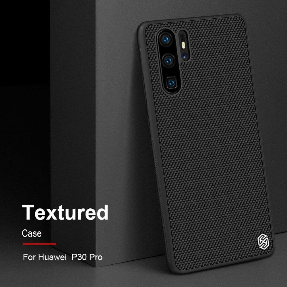 NILLKIN Huawei P30 Case Textured Nylon Fiber Hard PC Panel+TPU Frame Back Cover Case For Huawei P30 Pro /P30 LiteNILLKIN Huawei P30 Case Textured Nylon Fiber Hard PC Panel+TPU Frame Back Cover Case For Huawei P30 Pro /P30 Lite