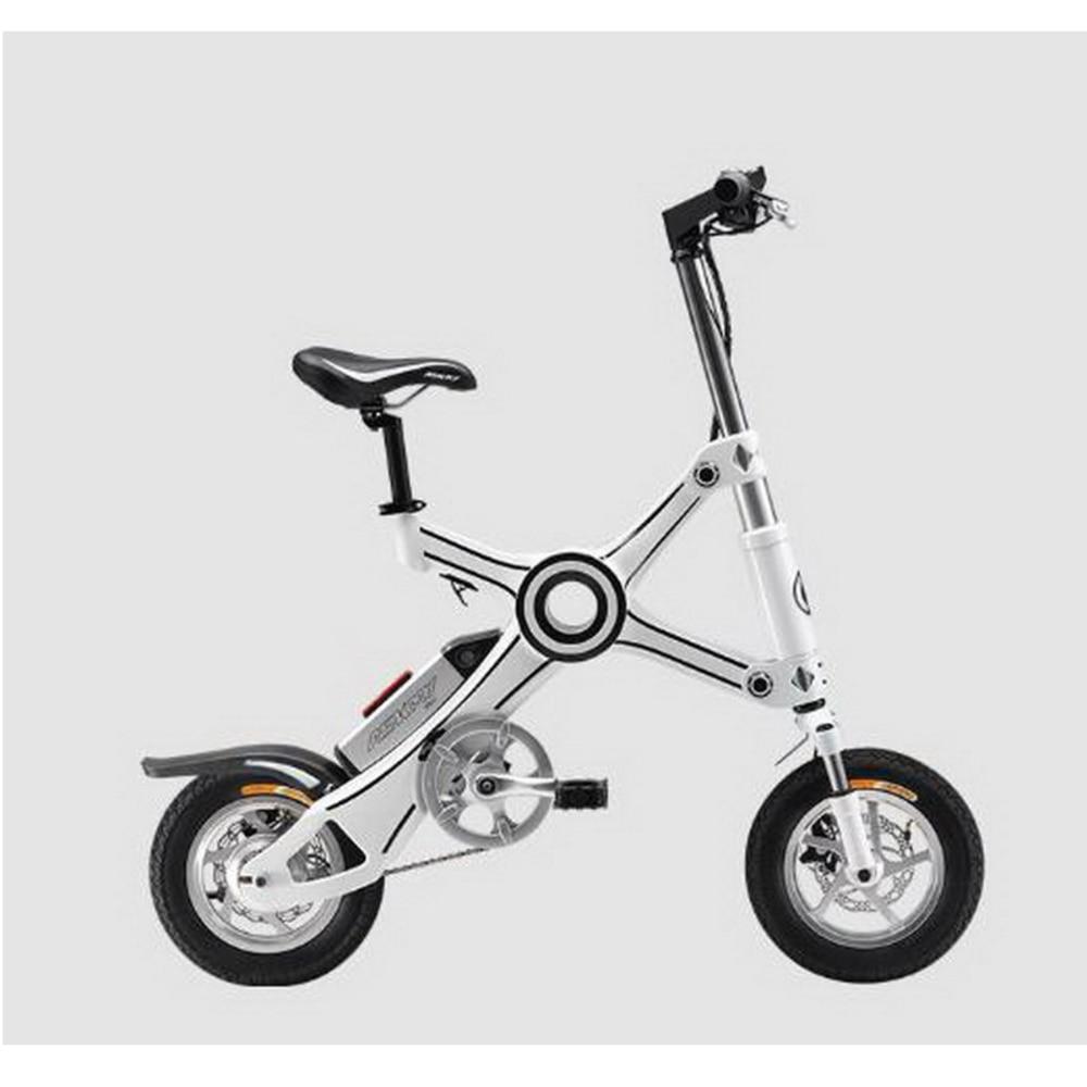 310441/Folding electric car / ultra-light mini lithium adult folding bicycle smart