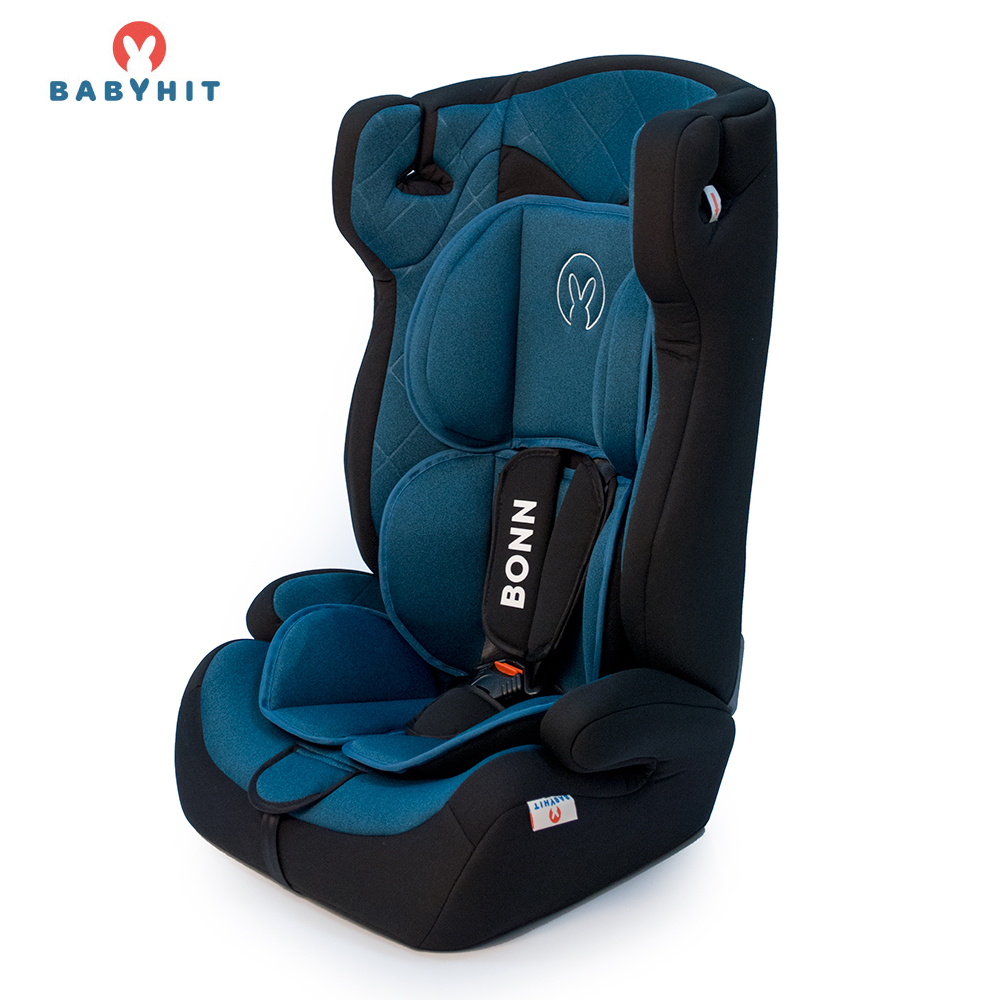 Child Car Safety Seats BABYHIT BONN X (BFL100A) Blue for girls and boys Baby seat Kids Children chair autocradle booster 3pcs random color baby helper safety door stop finger pinch guard child kid infant cute safety protector doorway