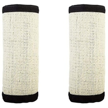Cat Scratch Furniture Protector, 16 Inch X12 Flexible Sisal Couch Guard Pad With Nylon Buckle
