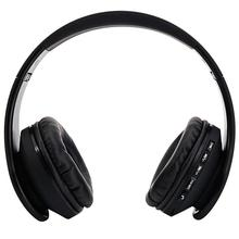 HY-811 Foldable FM Stereo MP3 Player Wired Bluetooth Headset Black стоимость