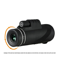 40x60/Mini monocular zoom/telescope mirror/eyepiece/monoculaire/objective lens hd telescope for mobile telescopes monoculars 36