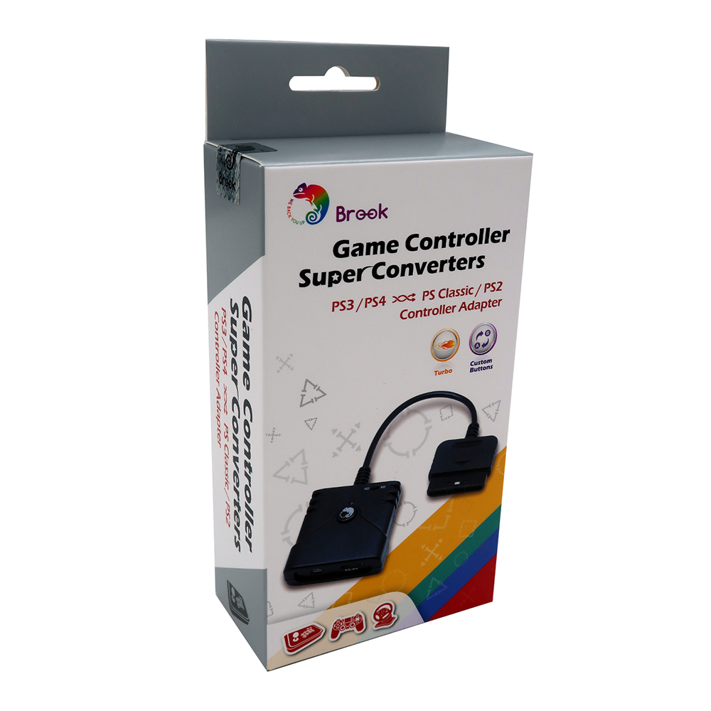Brook Super Converter Adapter for PS3 for PS4 Controller Gamepad Fightstick Racing Wheel to for PS2
