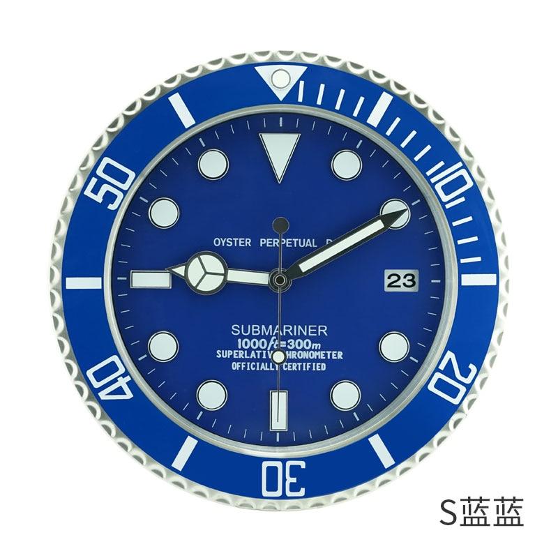 Conception De luxe En Métal Art Montre Horloge Relogio De Parede Decorativo décoration d'intérieur horloges murales avec Correspondant Logos