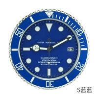 Luxury Design Metal Art Watch Clock Relogio De Parede Decorativo Home Decor Wall Clocks with Corresponding Logos
