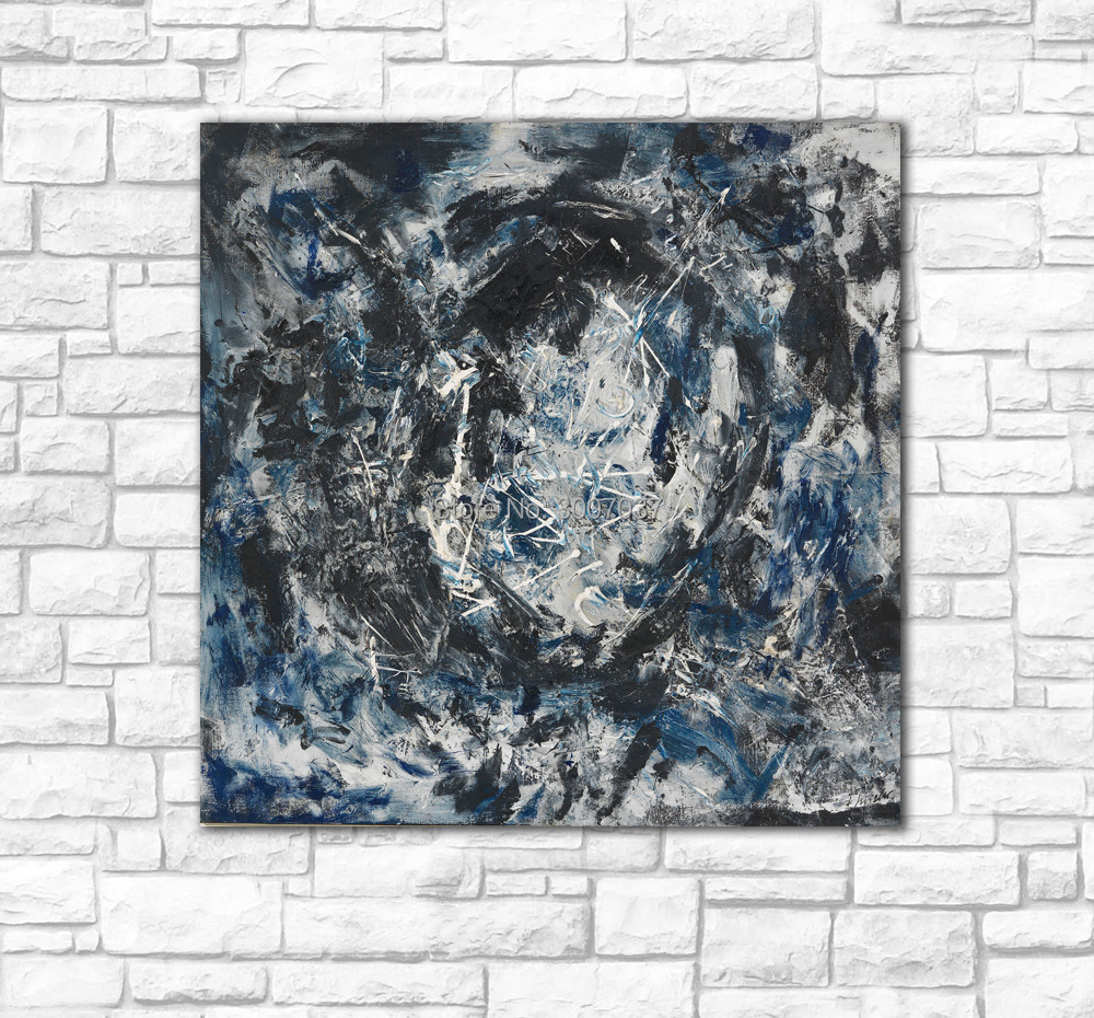 wall art Chaos storm Oil Painting Wall Art Picture Canvas Paintings Home Decor Abstract Modern
