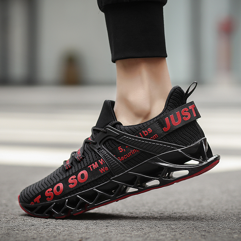 2019 Super Cool Breathable Running Shoes Men Sneakers Bounce Summer Outdoor Sport Shoes Professional Training Shoes Plus Size 46