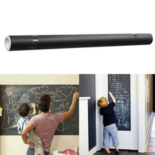 цена на PVC Blackboard Sticker Erasable Graffiti Wall Sticker Office School Supplies Removable Writing Board Children's Painting Tools
