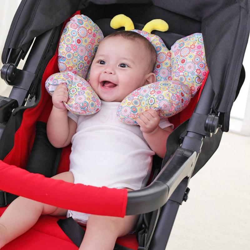 Baby Shaping Pillow Infant Car Sleeping Headrest Pillow Stroller Accessories Sleep Headrest Neck Protection U-Shape Cushion