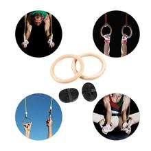 New Birch Fitness Rings Gymnastics Training Ring 28 MM 32 Durable And Strong For Daily Exercise