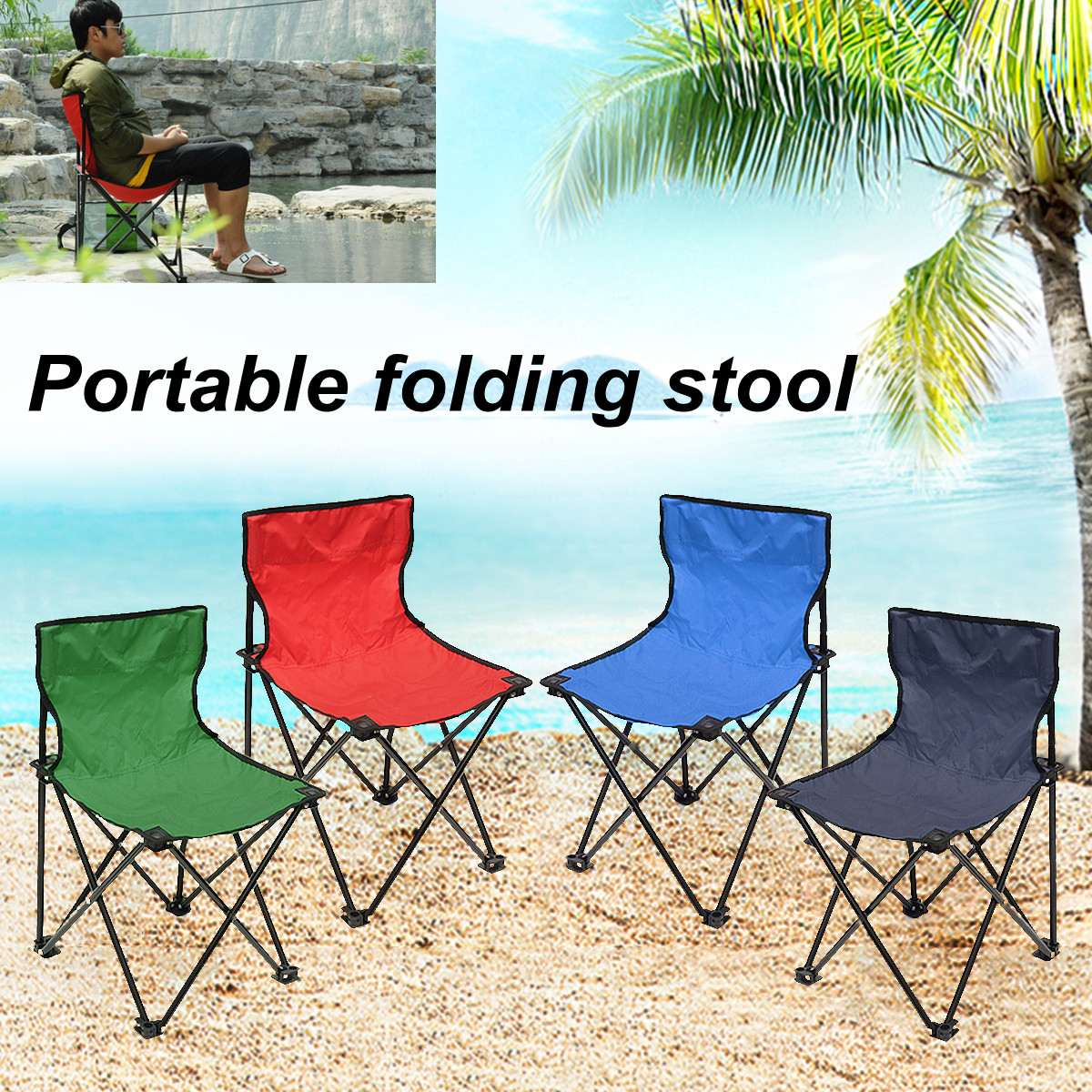 Portable Collapsible Chair Fishing Camping BBQ Stool Folding Hiking Seat Garden Ultralight Office Home FurniturePortable Collapsible Chair Fishing Camping BBQ Stool Folding Hiking Seat Garden Ultralight Office Home Furniture