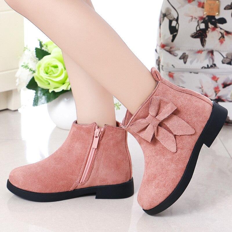 Autumn Winter Girls Boots Fashion