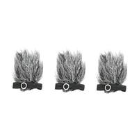 BOYA By B05 Professional Furry Windshield Windscreen For By M1 By Lm10 By Wm4 By Wm5 By Wm6 By Wm8 By Lm400 Lavalier Microphon