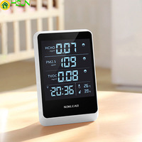 6 in 1 home formaldehyde detector HOCO TVOC high precision PM2.5 multi function tester air quality detector