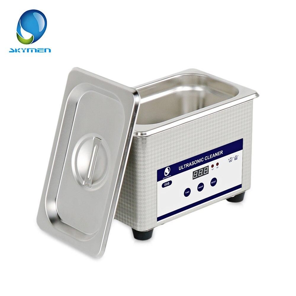 SKYMEN 0.8L Digital Ultrasonic Cleaners Sterilizer Cleaning Appliances Sterilizing Jewelry Manicure Tools Disinfection MachineSKYMEN 0.8L Digital Ultrasonic Cleaners Sterilizer Cleaning Appliances Sterilizing Jewelry Manicure Tools Disinfection Machine
