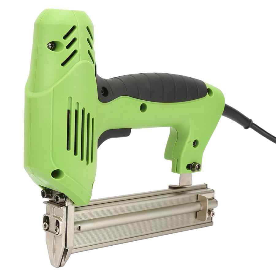 Meubels nietmachine 2000 W Elektrische Straight Nail Gun Framing Tacker Tackers Power Nietje Guns Tool CN Plug 220 V klinkhamer korting