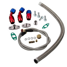 Universal Turbo Oil Line Kit Feed Line + Return