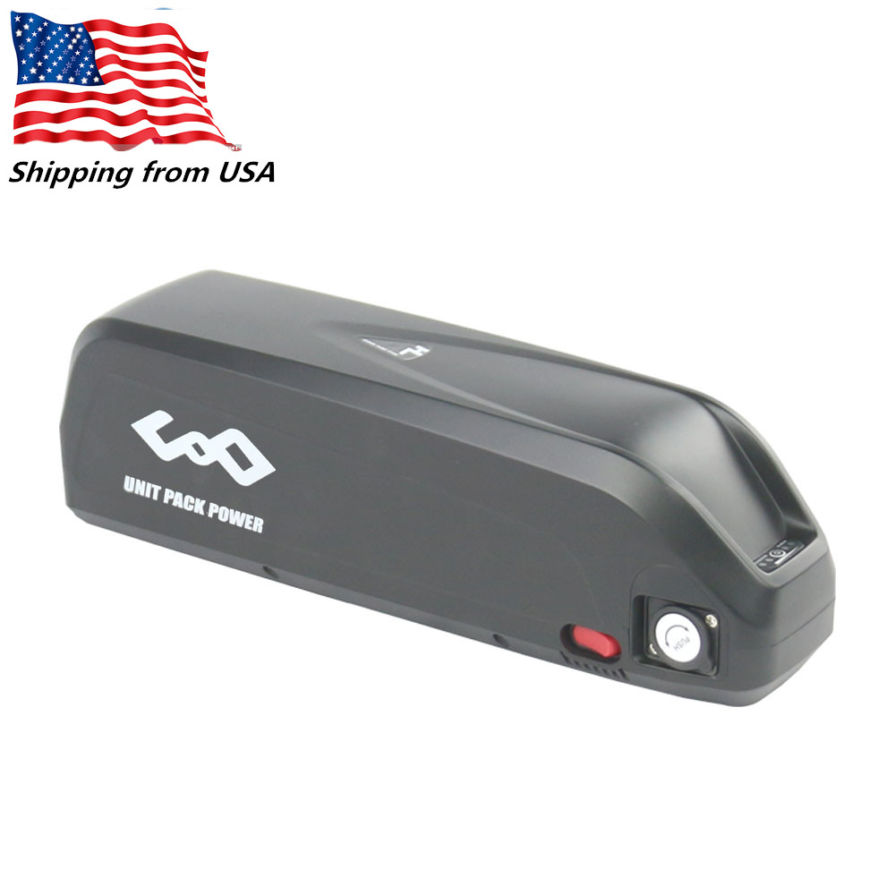 Shipping from USA 52V 14Ah Electric Bike 14S4P Shark Battery Pack 51 8V 1000W Lithium ion