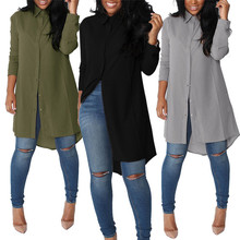 Maternity Blouse Casual Chiffon Pregnant Women Autumn Loose Full Shirts Women's Clothing Pregnancy Clothes Tops For Maternity