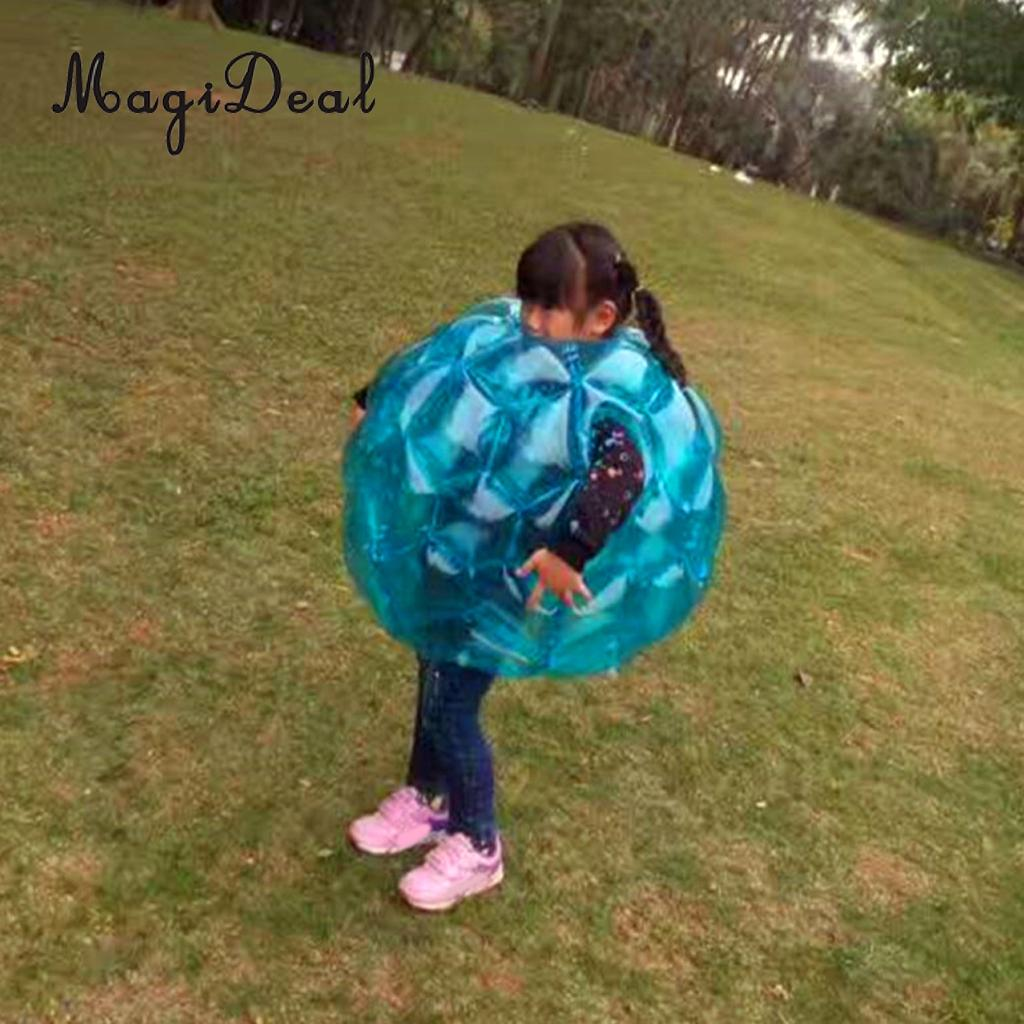 2Pcs 60cm PVC Kids Inflatable Buddy Bumper Ball Bounce Sumo Suits Outdoor buddy ii 18