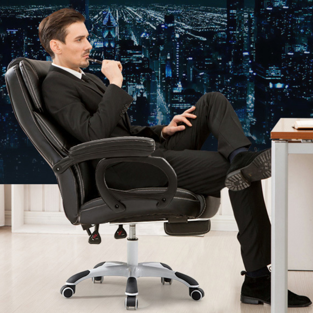 Ergonomic Kneeling Massage Gaming Executive Luxury Lie Chair Armrests Household Headrest Synthetic Leather Office Furniture