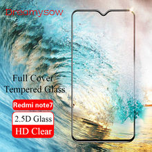 For Xiaomi Mi 8 Lite 6X 5X Max 3 Pocophone F1 Play Tempered Glass for Xiaomi Redmi Note 7 6 5 Pro 3 Screen Protector Full Cover(China)