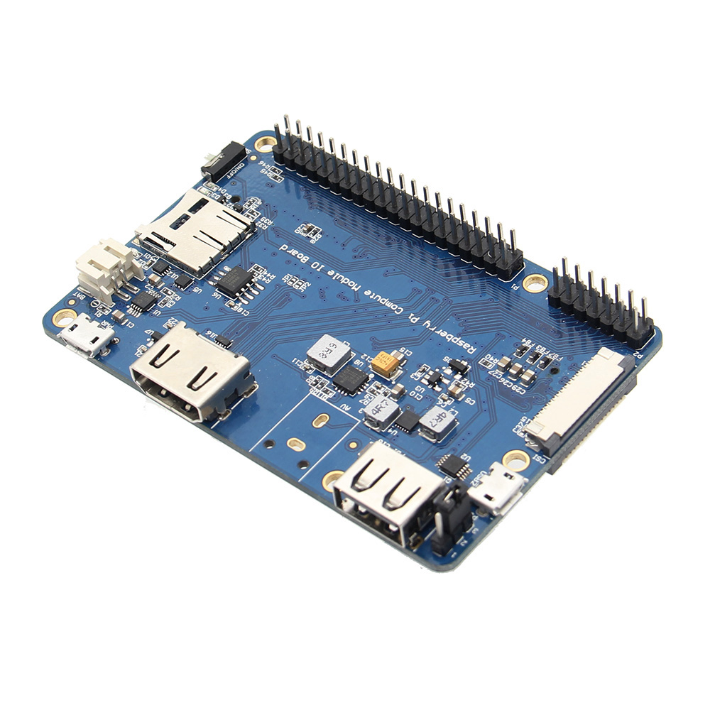 CM3 / CM3Lite IO Expansion Board For Raspberry Pi Computer Module