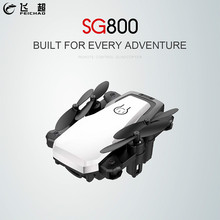 Mini SG800 Folding RC Quadcopter WiFi FPV Drone 2.4G 4CH Pocket Camera Drone Hea