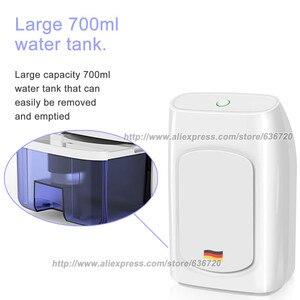 Image 5 - 700ml potężne osuszacze przenośne elektryczne osuszacze do wilgotnego, cichego, automatycznego wyłączania, osuszacz powietrza