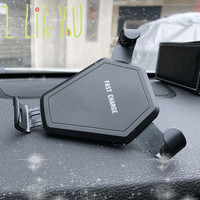 Car 10W Fast Wireless Charger Phone Holder for BMW E46 E39 E38 E90 E60 E36 F30 F30 E34 F10 F20 E92 E38 E91 E53 E70 X5 X3 X6 M