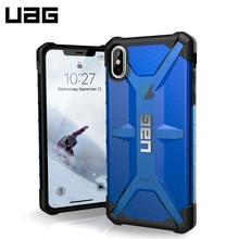 Защитный чехол UAG для iPhone XS Max серия Plasma цвет синий/111103115050/32/4