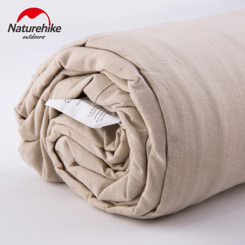 Image 3 - Naturehike Envelope Sleeping Bag Liner Cotton Ultralight Portable Camping Sheet Hiking Outdoor Travel Portable Hotel DirtySleeping Bags   -
