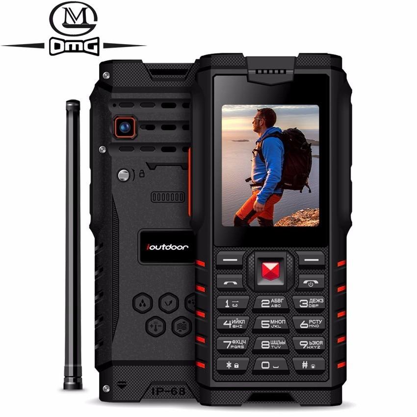 Ioutdoor T2 Ip68 Waterproof Shockproof Russian Keyboard Mobile Phone 4500mAh 2.4