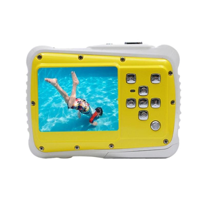 Enfants Cartton Mini caméra numérique 2 pouces 12MP HD 720 P étanche caméscope Portable enregistreur vidéo avec Microphone jouets de noël - 3