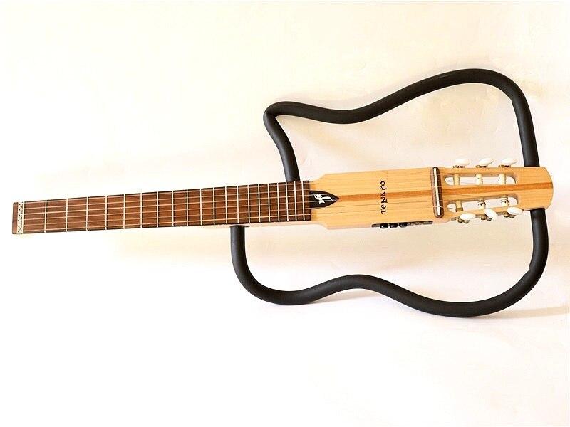 В НАЛИЧИИ натуральная Бесшумная гитара
