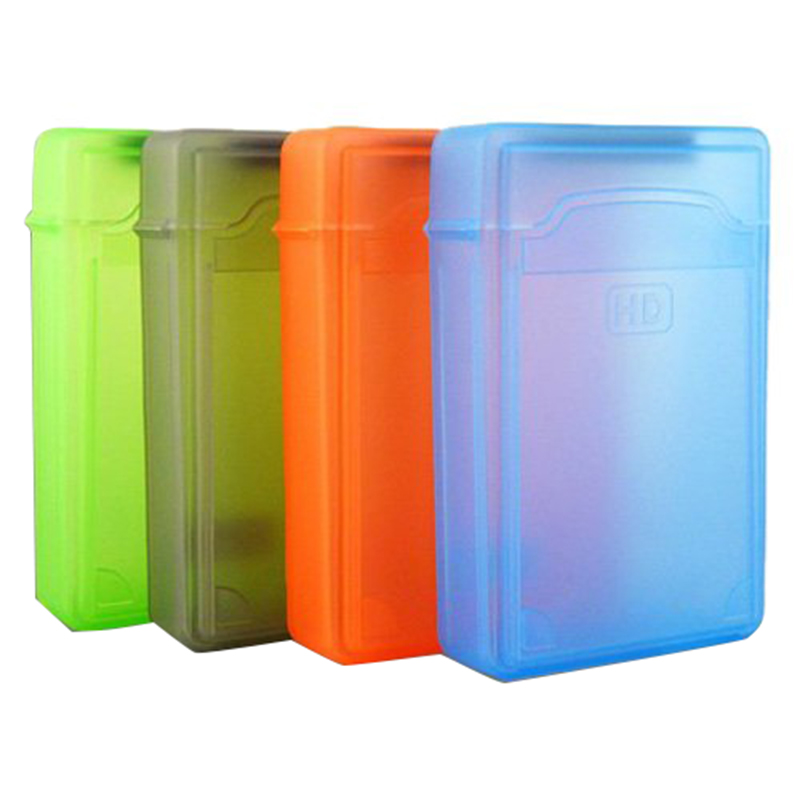 "5 PCS 3.5 ""Portable IDE Sata HDD External Case Hard Drive Case Hard Case Plastic Protection Case"