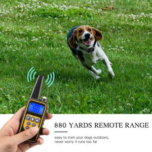 Image 4 - pet 800m Electric Dog Training Collar Pet Remote Control Waterproof Rechargeable with LCD Display for All Size Bark stop Collars