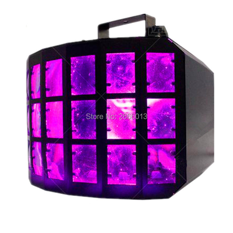 50W RGBW 4IN1 LED Three Layers Butterfly Light/DJ Disco Lighting /DMX Beam Effect Stage Lighting For KTV Bar Club Party Wedding