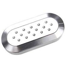 Чехол для автомобильного ключа, защитный чехол из серебристого пластика для Fiat 500