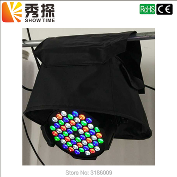 цена на good quality 1pcs/lot Led Par light Rain Cover use in Rain Snow Coat Beam Moving Waterproof Covers With Transparent Crystal