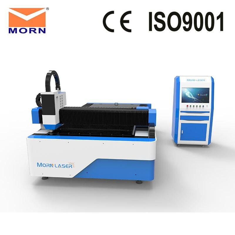 MORN 300 Вт/500 Вт Китай волоконно лазерная машина для резки металла пластина резки с высокой скоростью резки