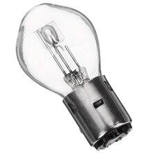 2 шт. BA20D высокое Яркость светодио дный лампы 12 В 35/35 Вт галогенные фары Сингал лампа Янтарный для мотоцикла ATV Мопед скутер