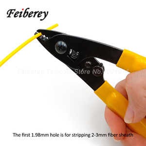 Image 4 - 3 in 1 FTTH Fiber Optic Stripper Tool Kit CFS 2 CFS 3 Optical Fiber Stripping Plier Indoor Drop Cable Sheath Peeling Plier